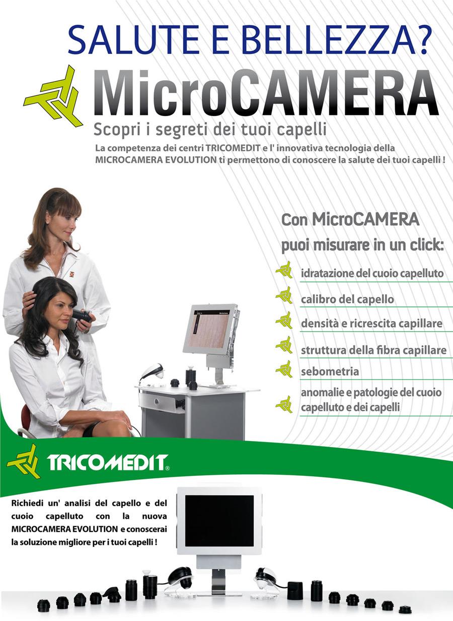 microcamera capelli