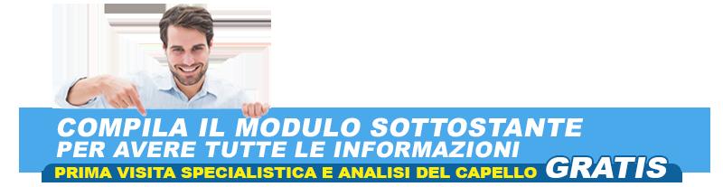 Chiedi Info Trapianto Capelli Tricomedit