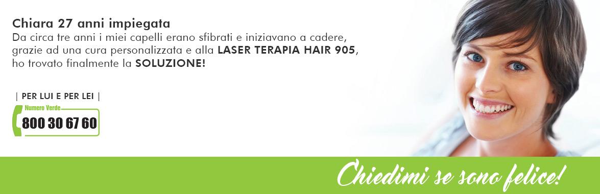 caduta capelli donne laser-terapia