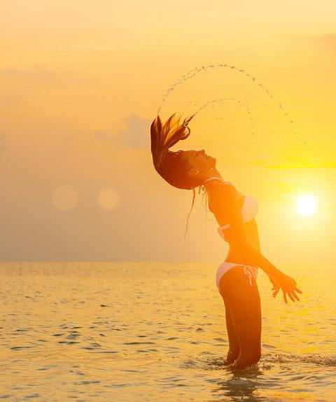 La caduta dei capelli in estate