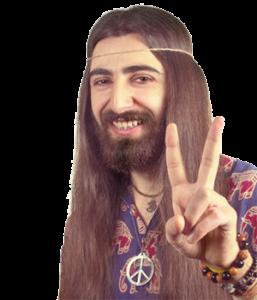 capelli-hippie-man