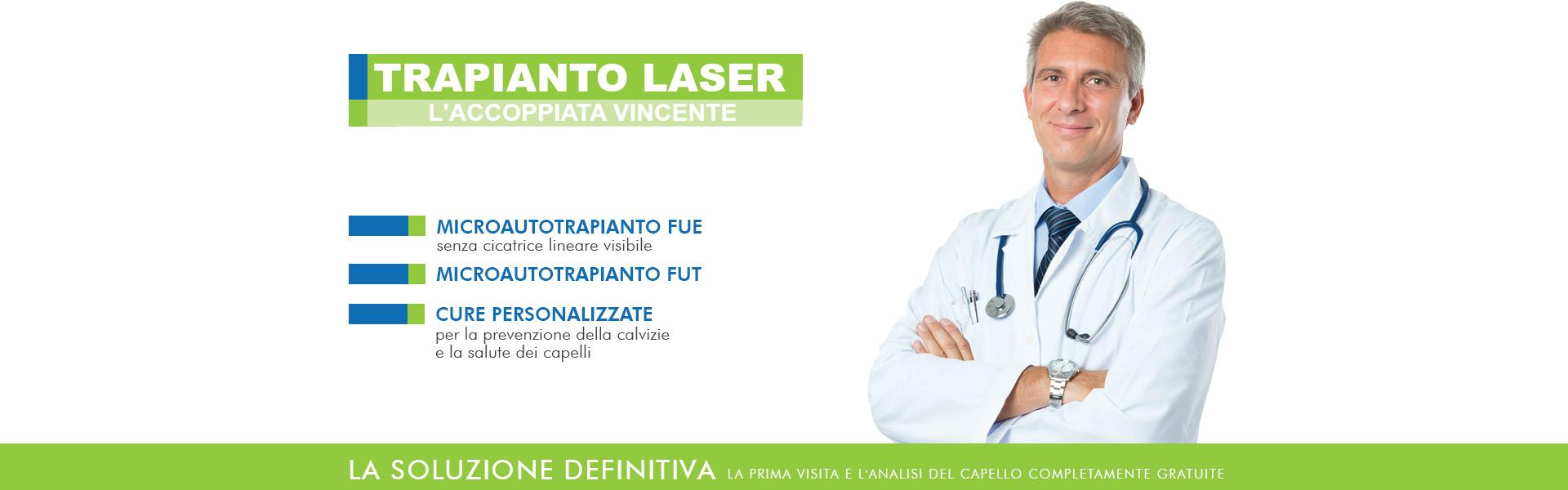 Trapianto Capelli e Laser Capelli